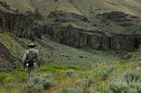 Deathtrap Canyon near Steens