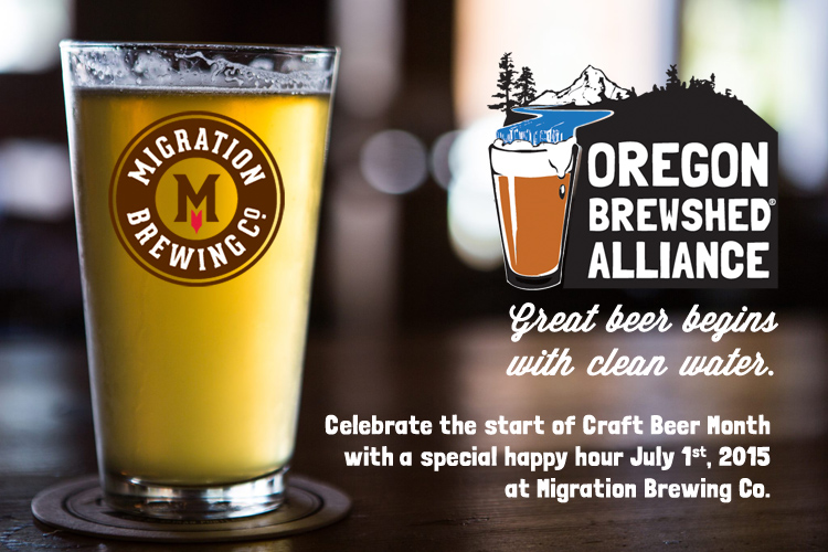 craft beer month kickoff oregon brewshed alliance On craft beer of the month
