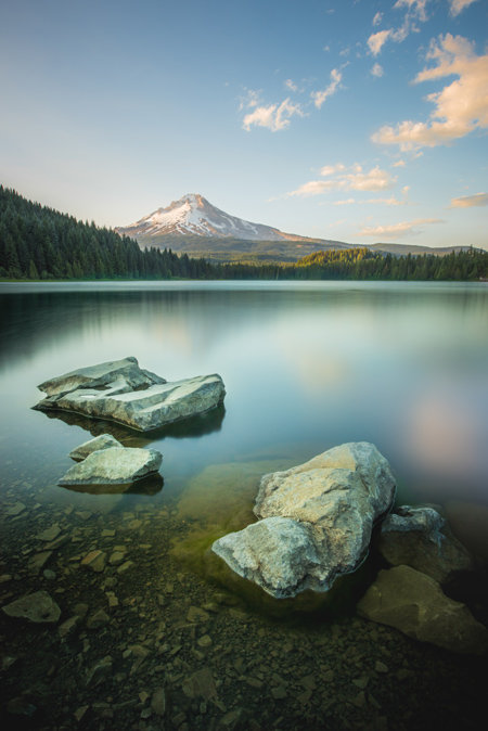 Trillium Lake by Joe Keller