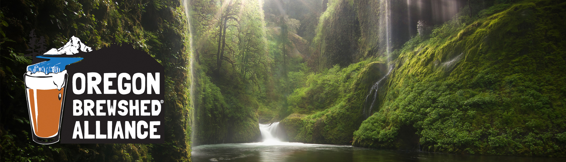 Oregon Brewshed® Alliance (Eagle Creek photo by Jamey Pyles)