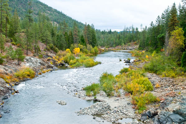 Coquille River in Spring, Siskiyou National Forest, Oregon ...